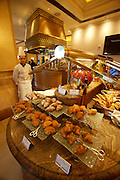 Emirates Palace Hotel. 7 Star luxury, state-owned and managed by Kempinski. Le Vendôme Brasserie.