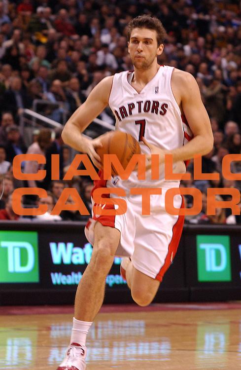 DESCRIZIONE : Toronto Campionato NBA 2007-2008 Toronto Raptors Memphis Grizzlies<br /> GIOCATORE : Andrea Bargnani<br /> SQUADRA : Toronto Raptors<br /> EVENTO : Campionato NBA 2007-2008 <br /> GARA : Toronto Raptors Memphis Grizzlies<br /> DATA : 28/11/2007 <br /> CATEGORIA : Penetrazione<br /> SPORT : Pallacanestro <br /> AUTORE : Agenzia Ciamillo-Castoria/V.Keslassy<br /> Galleria : NBA 2007-2008 <br /> Fotonotizia : Toronto Campionato NBA 2007-2008 Toronto Raptors Memphis Grizzlies<br /> Predefinita :