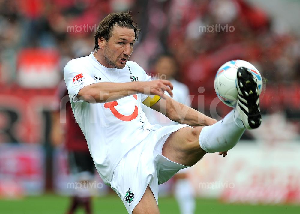 FUSSBALL   1. BUNDESLIGA  SAISON 2011/2012   2. Spieltag 1 FC Nuernberg - Hannover 96          13.08.2011 Christian Schulz (Hannover 96)