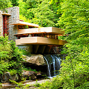 &quot;Dreaming of Fallingwater&quot; 2<br /> <br /> Beautiful Fallingwater in the Laurel Highlands of Pennsylvania!!<br /> <br /> Architecture: Structures and buildings by Rachel Cohen
