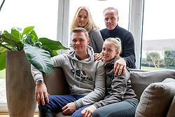Maurice TEBBEL, Justine TEBBEL, Rene TEBBEL, Erika TEBBEL<br /> Emsbüren - Gestütsportrait Hengststation Tebbel 2017   <br /> © www.sportfotos-lafrentz.de/Stefan Lafrentz
