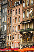 Shops and galleries, Honfleur, Normandy, France