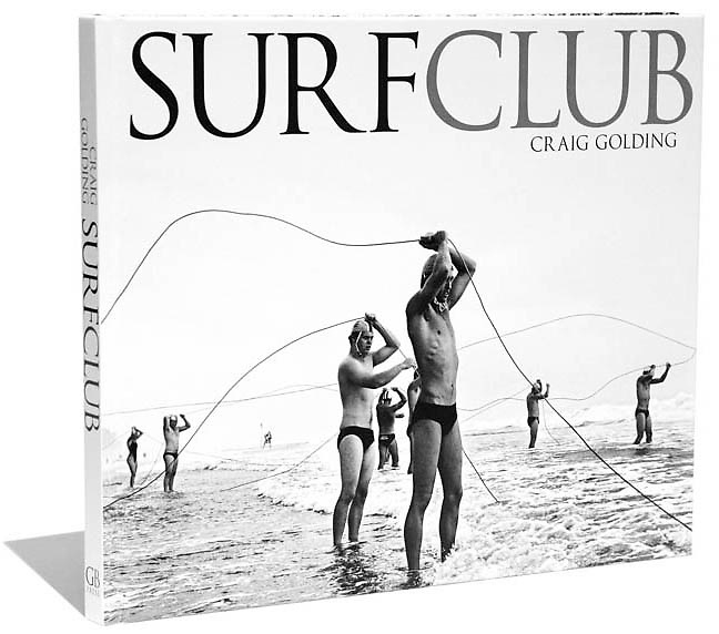 """Since 1907 Australia's surf lifesavers have saved more than half a million lives along our rugged and unforgiving coastline.<br />  Sydney photographer Craig Golding has produced a hardcover book of 120 pages with sixty large format iconic images telling<br />  the story of Australia's lifesavers in award winning black and white Duotone images.<br /> Images from the book have won a number of International awards including 2 World Press Photo Awards, <br />  Pictures of the Year (USA), I.O.C. Lequipe World sports photo contest (Europe).<br />  Size  250 x 295mm (wide)<br /> <br /> """"Price of $39.00 includes free postage anywhere within Australia""""<br /> To view a selection of images from the book """"SURFCLUB"""" click on Galleries in menu on the left, then All Galleries and then on Surfclub Book Images"""