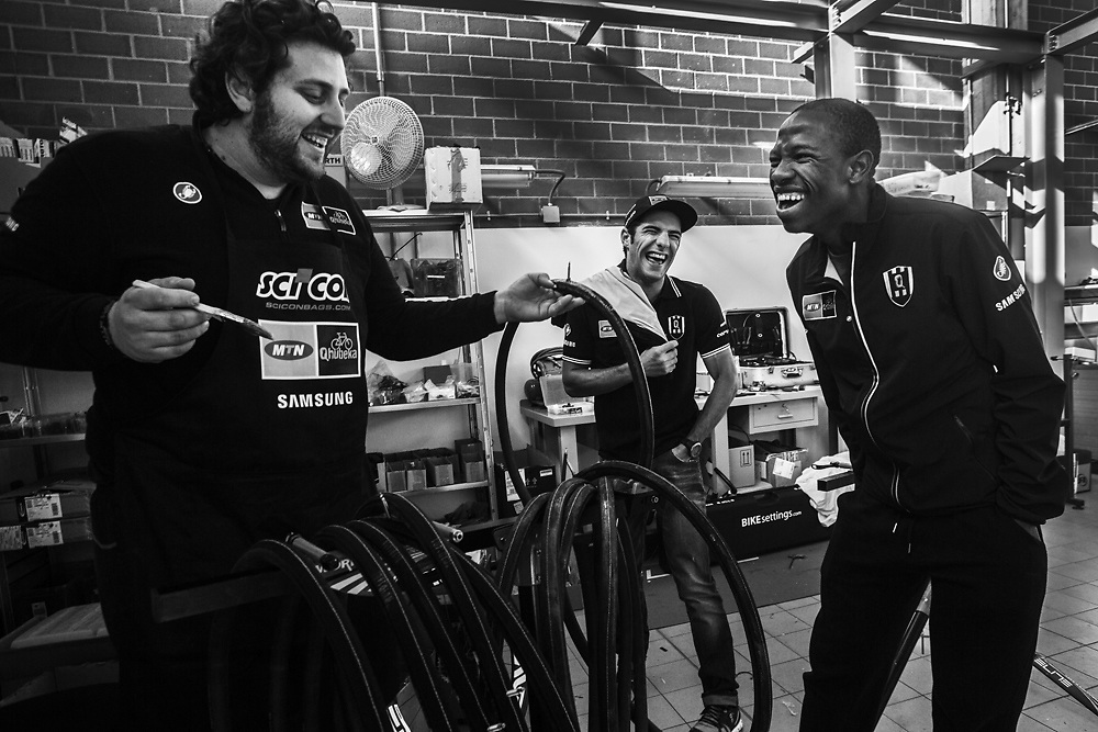 Italy - Feature - Tour De France - MTN Team Qhubeka the first African  cycling team to compete in the Tour de France 2015  645acef6a