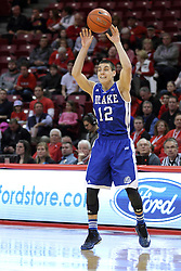 07 January 2015:   Reed Timmer during an NCAA MVC (Missouri Valley Conference) men's basketball game between the Drake Bulldogs and the Illinois State Redbirds at Redbird Arena in Normal Illinois.  Illinois State comes out victorious 81-45.