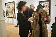 MOLLIE DENT-BROCKLEHURST; MELISSA CHASSAY, Panta Rhei. An exhibition of work by Keith Tyson. The Pace Gallery. Burlington Gdns. 6 February 2013.