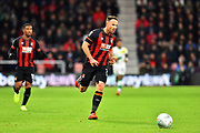 Marc Pugh (7) of AFC Bournemouth during the EFL Cup 4th round match between Bournemouth and Norwich City at the Vitality Stadium, Bournemouth, England on 30 October 2018.