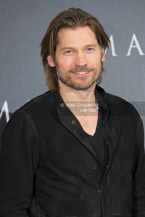 Nicolaj Coster-Waldau attends 'Mama' photocall at Villamagna Hotel in Madrid