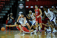 11 MAR 2009:  University of Nevada - Las Vegas takes on Texas Christian University during the Mountain West Conference Women's Basketball Tournament held at the Thomas & Mack Center in Las Vegas, NV.  Brett Wilhelm/NCAA Photos