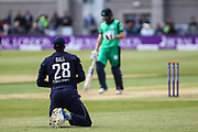 Jake Ball of England during the One Day International match between England and Ireland at the Brightside County Ground, Bristol, United Kingdom on 5 May 2017. Photo by Andrew Lewis.
