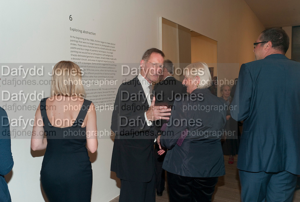 SIR NICHOLAS SEROTA, Gerhard Richter: Panorama. Tate Modern. London. 4 October 2011. <br /> <br />  , -DO NOT ARCHIVE-&copy; Copyright Photograph by Dafydd Jones. 248 Clapham Rd. London SW9 0PZ. Tel 0207 820 0771. www.dafjones.com.