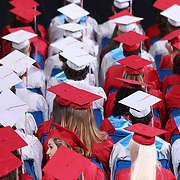 169 Conrad Schools of Science graduates watch commencement exercises Saturday, June 06, 2015, at The Bob Carpenter Sports Convocation Center in Newark, Delaware.
