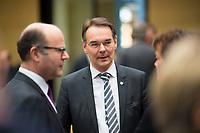 DEU, Deutschland, Germany, Berlin, 02.03.2018: Ingbert Liebing (CDU), Bevollmächtigter des Landes Schleswig-Holstein beim Bund, vor einer Sitzung im Bundesrat.