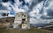 Image shows general view of war damaged houses on high ground above Sarajevo.<br /> 19/03/2015.<br /> <br /> Credit should read: Cpl Mark Larner, Media Ops Group.<br /> <br /> Exercise Civil Bridge is an exercise in support of UK Defence Engagement by elements of 77 Brigade. Civil Bridge 14B (CB14B) is being conducted Sarajevo, Bosnia &amp; Herzegovina (BiH).<br /> <br /> By assisting the BiH Government to develop their contingency plans for natural disasters at both strategic and operational levels, CB14B will contribute to the long term international effort to stabilise BiH ethnic groups and authorities.