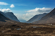 The A82 through Glencoe, Scotland