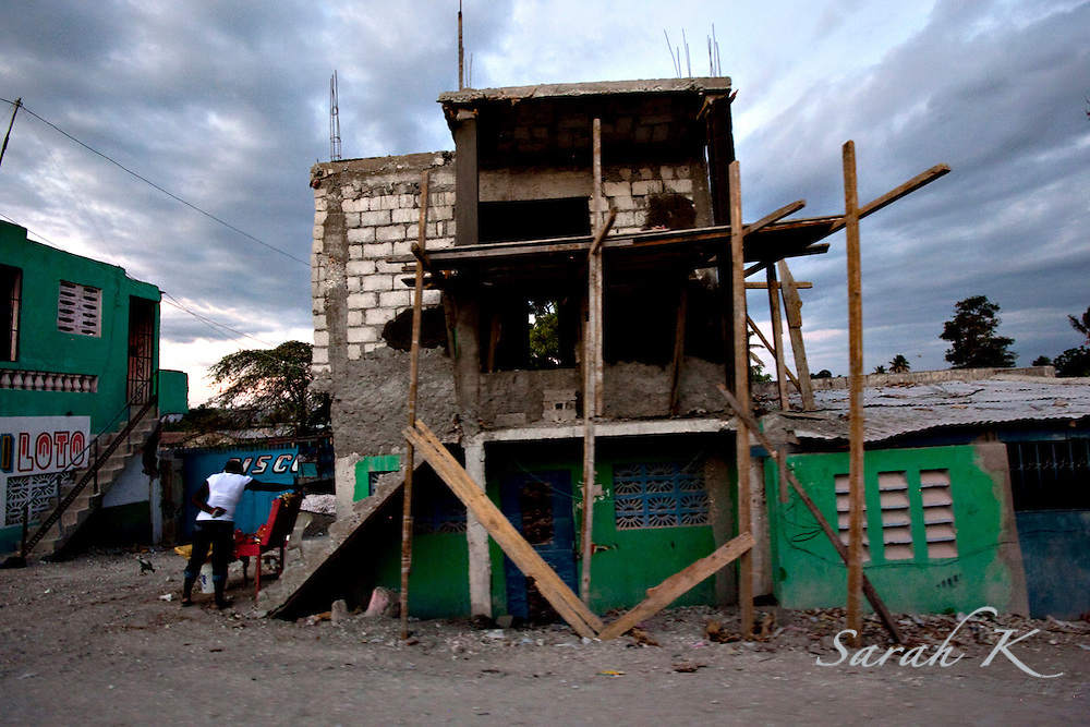 Supplies and engineering knowledge are often scarce in Haiti, which makes it easy for buildings and homes to collapse, especially during storms.