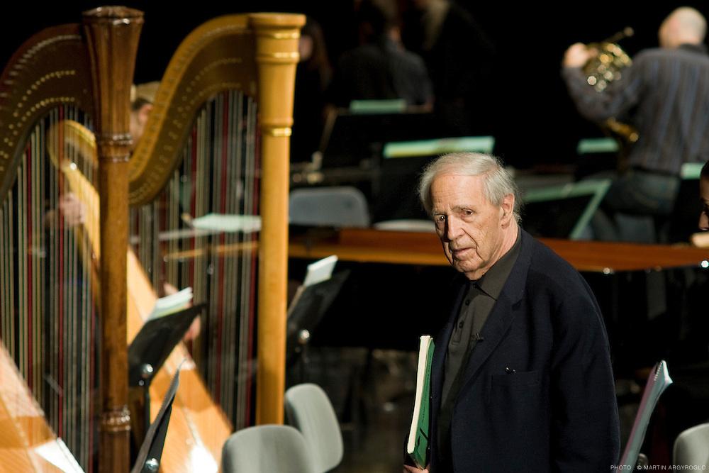 14 et 15 novembre de 10h à 18h, CNSMDPMaster Class de Pierre Boulez avec l'OLC /Petrouchka, Stravinsky, le Mandarin Merveilleux, Bartok, pièces op.6, Webern