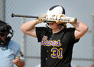 Upper Moreland's Alison Creighton #31 reacts after striking out in the fourth inning Friday May 27, 2016 at Upper Moreland High School in Willow Grove, Pennsylvania. (Photo by William Thomas Cain)