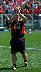 BALTIMORE, MD - Saturday, July 28, 2012: Liverpool manager Brendan Rodgers after the goalless draw against Tottenham Hotspur during a pre-season friendly match at the M&T Bank Stadium. (Pic by David Rawcliffe/Propaganda)