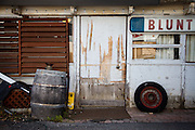 Marin City, April 6 2012 - An old garage.
