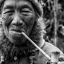 Myanmar - The Chin (Black & White)