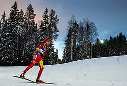 March 9, 2019 - –Stersund, Sweden - 190309 Stavre Jada of Fyr Macedonia competes in the Men's 10 KM sprint during the IBU World Championships Biathlon on March 9, 2019 in Östersund..Photo: Petter Arvidson / BILDBYRÃ…N / kod PA / 92252 (Credit Image: © Petter Arvidson/Bildbyran via ZUMA Press)