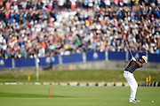 Tony Finau (Usa) during the friday morning fourballs session of Ryder Cup 2018, at Golf National in Saint-Quentin-en-Yvelines, France, September 28, 2018 - Photo Philippe Millereau / KMSP / ProSportsImages / DPPI