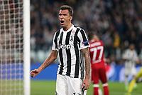27.09.2017 - Torino - Champions League   -  Juventus-Olympiakos nella  foto: Mario Mandzukic esulta dopo il gol del 2 a 0