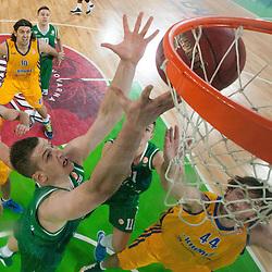 20121207: SLO, Basketball - Euroleague 2012/13, KK Union Olimpija vs BC Khimki Moscow Region
