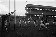 26/02/1967<br /> 02/26/1967<br /> 26 February 1967<br /> Railway Cup Semi-Finals: Ulster v Munster at Croke Park, Dublin.