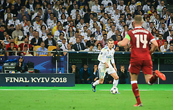 Gareth Bale of Real Madrid during the UEFA Champions League final football match between Liverpool and Real Madrid at the Olympic Stadium in Kiev, Ukraine on May 26, 2018.Photo by Sandi Fiser / Sportida