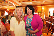 AnnMarie Nolan, Seamount College, and Michelle Lee, Retro-My-Dress at A Vintage and Pre-Loved Fashion Extravaganza held in the Lady Gregory Hotel in Gort . A fundraising event organised by the Parents Council for Seamount's new pitch.  Photo:Andrew Downes