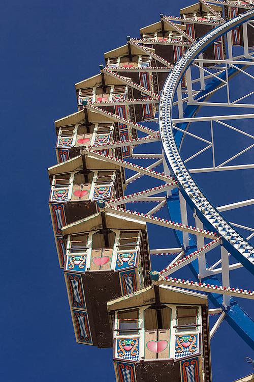 Ferris Wheel at Oktoberfest, Munich, Germany
