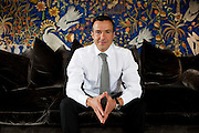 "May 18, 2012, Lisbon, Portugal: Jorge Mendes, Portuguese sports agent, in an portrait session for an interview for the French sports newspaper ""L'Equipe""."
