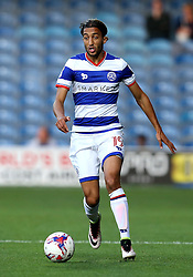Abdenasser El Khayati of Queens Park Rangers runs with the ball - Mandatory by-line: Robbie Stephenson/JMP - 10/08/2016 - FOOTBALL - Loftus Road - London, England - Queens Park Rangers v Swindon Town - EFL League Cup