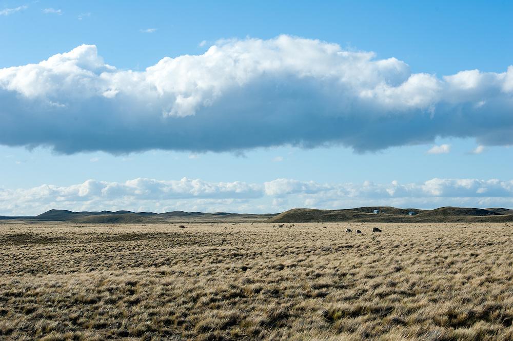 Distant Mountain, Punta Arenas Chile