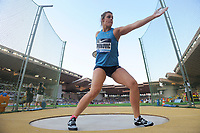 Sandra Perkovic of Croatia competes and wins in Discus Throw Women during the International Athletics Meeting Herculis, IAAF Diamond League, Monaco on July 17, 2015 at Louis II  stadium in Monaco, France - Photo Jean-Marie Hervio / KMSP / DPPI