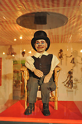 © Copyright licensed to London News Pictures. 13/10/2010. Ventriloquist dummy at the Museum of Everything, Primrose Hill, London. Sir Peter Blake is loaning some of his collection to James Brett, owner of the Museum of Everything for an exhibition which opens 13th October 2010.
