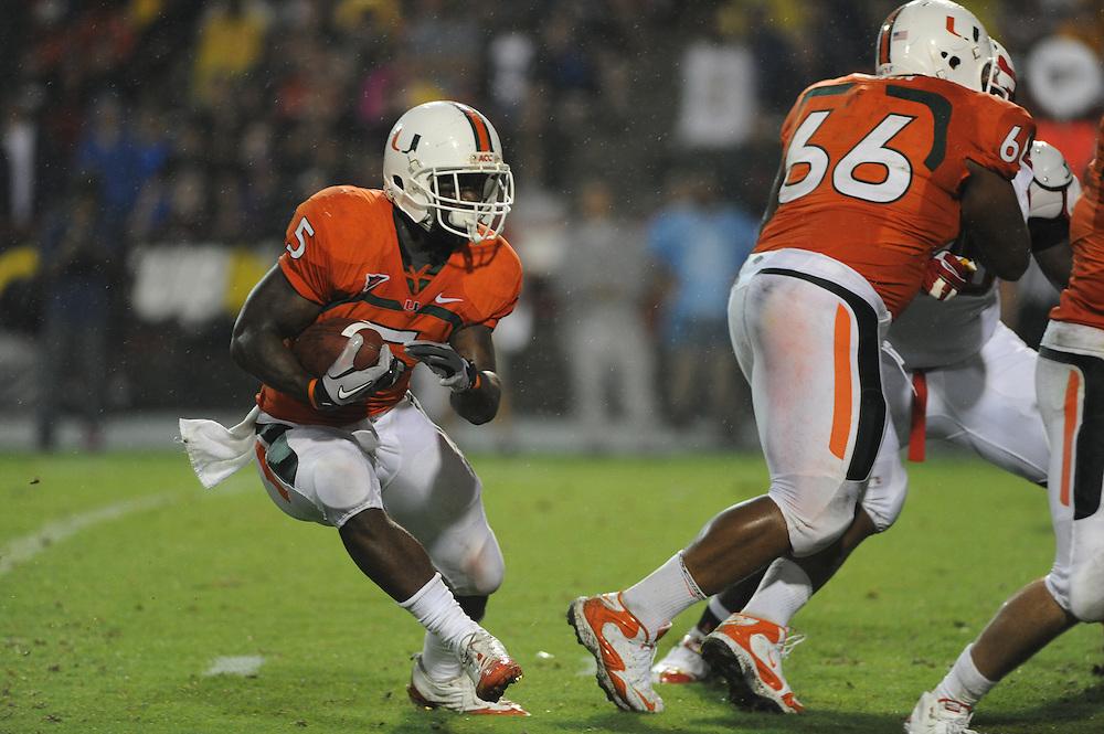 2011 Miami Hurricanes Football @ Maryland<br /> <br /> Mike James