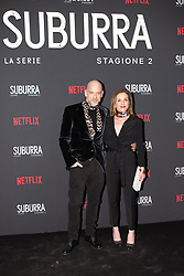 Filippo Nigro at the Red Carpet of the series Suburra 2 at Circolo Degli Illuminati in Rome, Italy, 20 February 2019  (Credit Image: © Lucia Casone/Soevermedia via ZUMA Press)