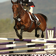 Molly Bull (USA) and Hole In One at the 2007 Bromont Fall Horse Trials held September 20 - 23 at the 1976 Olympic site in Bromont, Quebec, Canada.