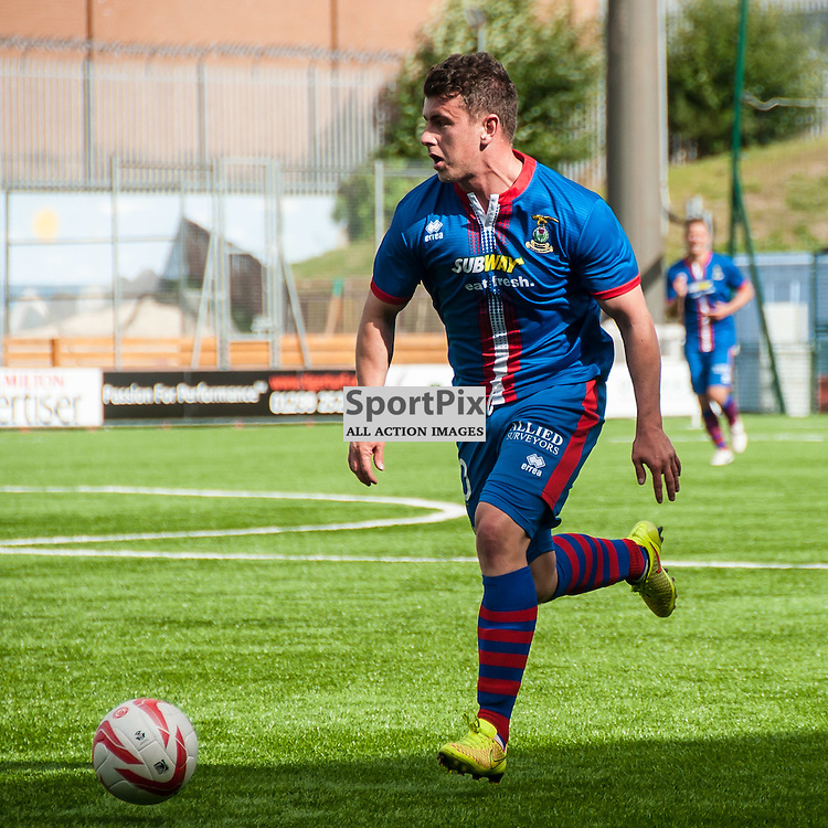 Inverness' Aaron Doran in action during the Hamilton Accies v Inverness Caledonian Thistle game in the Scottish Premiership at New Douglas Park in Hamilton, 9 August 2014. (c) Paul J Roberts / Sportpix.org.uk