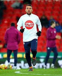 Nicolas Otamendi of Manchester City - Mandatory by-line: Robbie Stephenson/JMP - 12/03/2018 - FOOTBALL - Bet365 Stadium - Stoke-on-Trent, England - Stoke City v Manchester City - Premier League