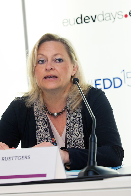 04 June 2015 - Belgium - Brussels - European Development Days - EDD - Financing - Unlocking private and public finance for sustainable growth - Heike Ruettgers , Head of Mandates Management , European Investment Bank (EIB) © European Union