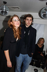 PRINCESS BEATRICE OF YORK and   at a party to celebrate the publication of Tatler's Little Black Book 2006 held at 24, 24 Kingley Street, London W1 on 9th November 2006.<br />