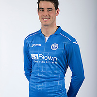 Brian Graham, St Johnstone FC...Season 2014-2015<br /> Picture by Graeme Hart.<br /> Copyright Perthshire Picture Agency<br /> Tel: 01738 623350  Mobile: 07990 594431