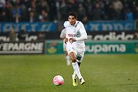 FOOTBALL - FRENCH CHAMPIONSHIP 2011/2012 - L1 - OLYMPIQUE DE MARSEILLE v LILLE OSC - 15/01/2012 - PHOTO PHILIPPE LAURENSON / DPPI - BRANDAO (OM)