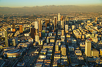 Los Angeles Skyline & San Gabriel Mountains