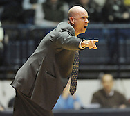 "Mississippi head coach Andy Kennedy reacts to a call against LSU at the C.M. ""Tad"" Smith Coliseum in Oxford, Miss. on Wednesday, January 15, 2013. Kennedy received a technical foul. (AP Photo/Oxford Eagle, Bruce Newman)"