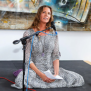 NLD/Amsterdam/20150608 -Yoga  Boekpresentaie Danielle van 't Schip - Oonk, Danielle